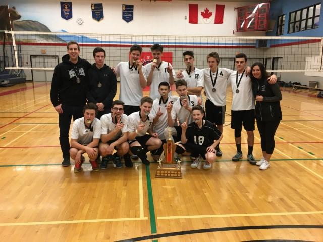 George Elliot Junior Boys Volleyball Team - Provincial Champions