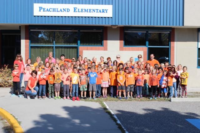 Orange Shirt Day at Peachland Elementary